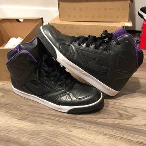 Nike Shoes - Nike Auto Flight High - Black/Purple - Size 14